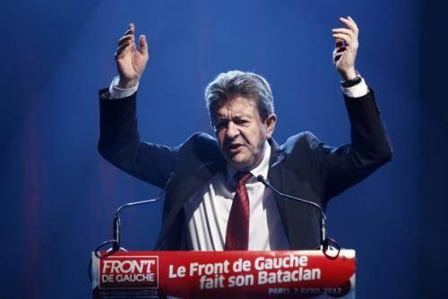 Jean-Luc Mélenchon, pendant la campagne 2012