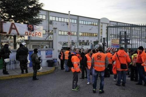 Grève des employés du métro en janvier.