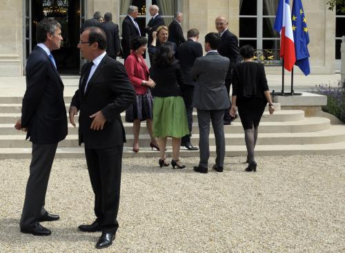 Jérôme Cahuzac et François Hollande.