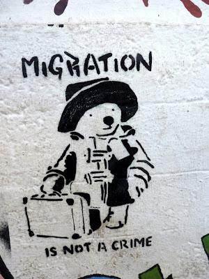 Affiche à Athènes (photo Gwyneth Bison)