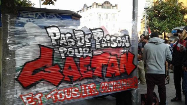 Rassemblement à Toulouse, le 17 avril 2015.