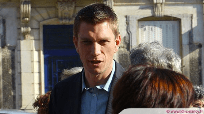 Mathieu Klein, candidat PS à Nancy