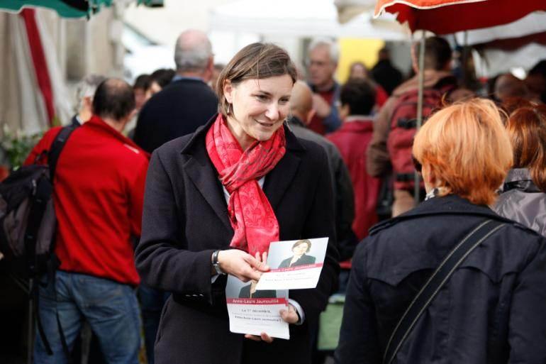 Une candidate socialiste aux municipales: Anne-Laure Jaumouillié (La Rochelle)