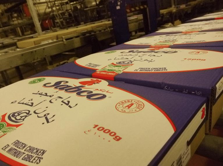 """Comme Doux, Tilly-Sabco exporte l'essentiel de ses poulets congelés """"halal"""" vers le Moyen-Orient"""
