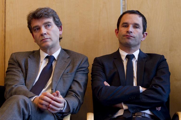Arnaud Montebourg et Benoît Hamon.