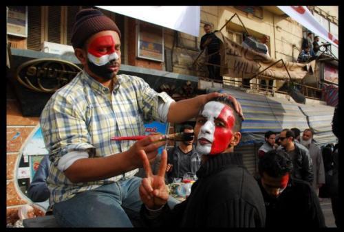 En 2011, les jeunes manifestants de la place Tahrir, encore pleins d'espoir.