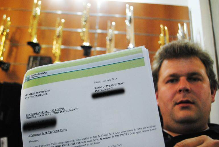 Pierre Vicogne doit payer 199 000 euros dans un délai d'une semaine à son créancier, suite à un impayé de l'armée.