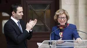 Benoît Hamon et Geneviève Fioraso