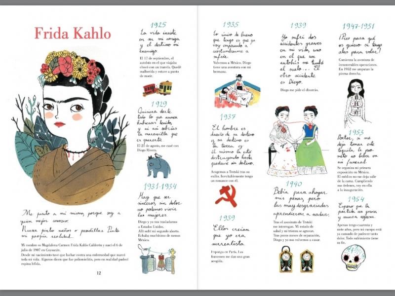 Resultado de imagen de frida kahlo una biografía, maría hesse