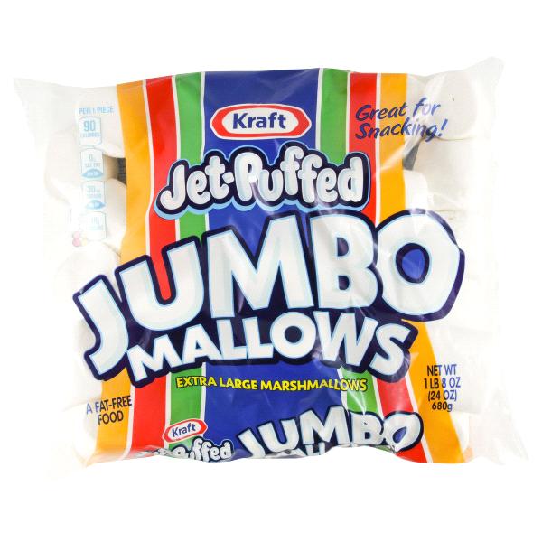 Kraft Jet Puffed Marshmallows Jumbo 28 Oz