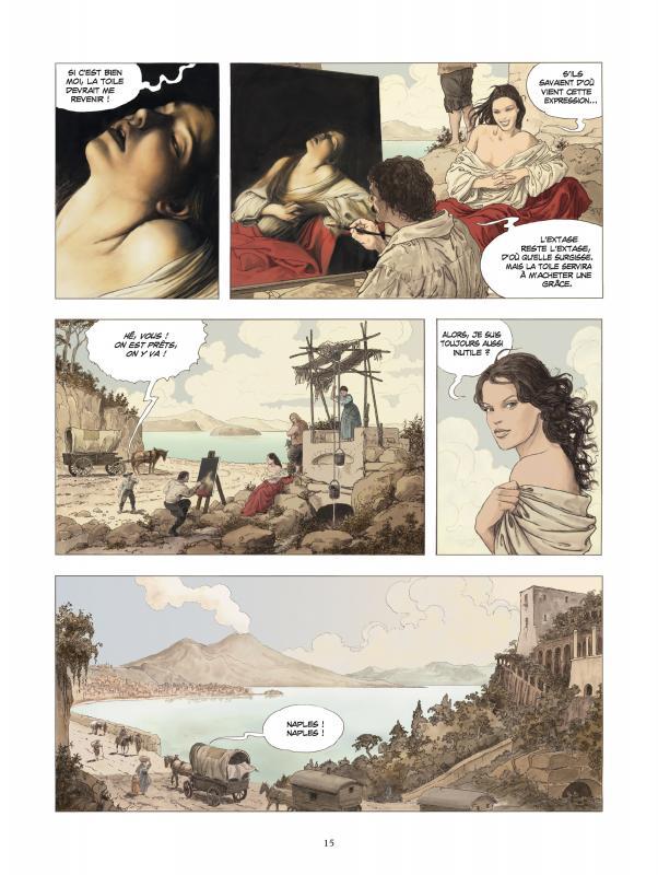 Le Caravage - Tome 2 de Milo Manara