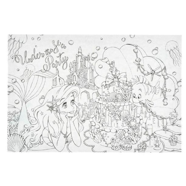 メルカリ - ディズニープリンセス 大人の塗り絵 アリエル ベル