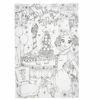 メルカリ - ディズニー プリンセス 大人の塗り絵 ベル ラプンツェル