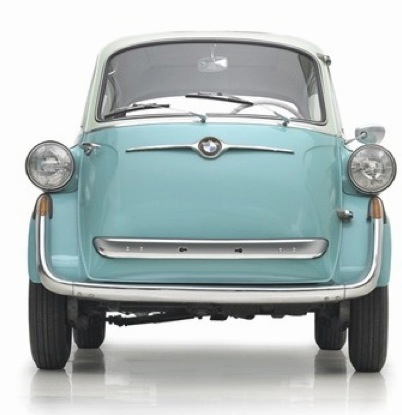 The Cutest   Tiniest Cars Ever Made BMW teamed up with Milan based refrigerator company  Iso Spa of all things  on this one  thus the name    Isetta     meaning    little