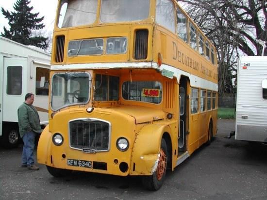 The Vintage Double Decker Bus Shop Friends | Spiral Staircase For Sale Craigslist | Senior Prank | Handrail | Steel | Stairway | Metal