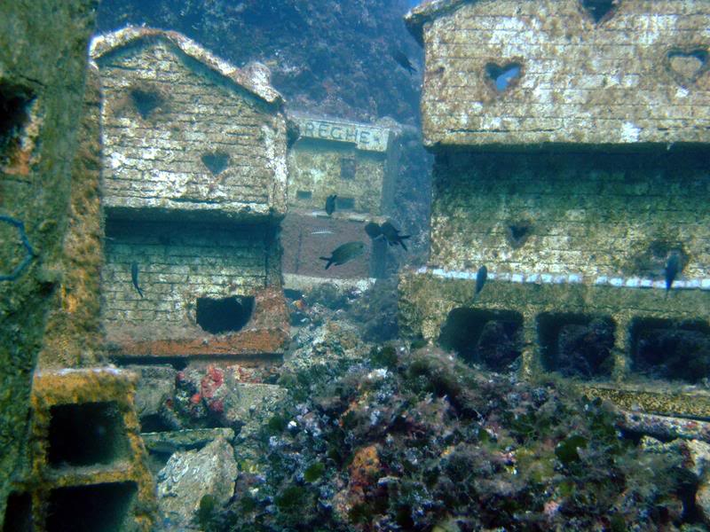 Image result for real underwater town