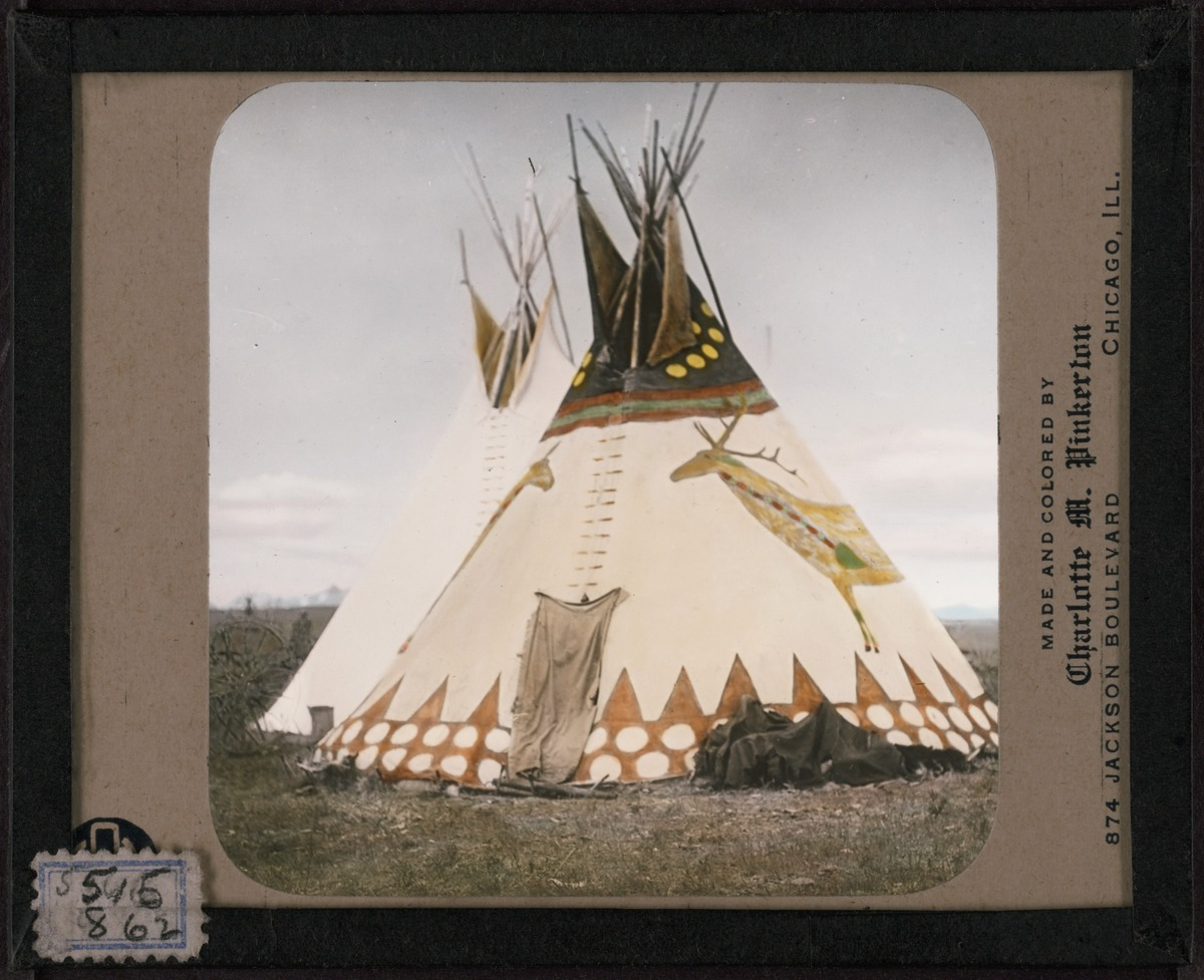 A Compendium Of Native American Tipi Decoration Circa