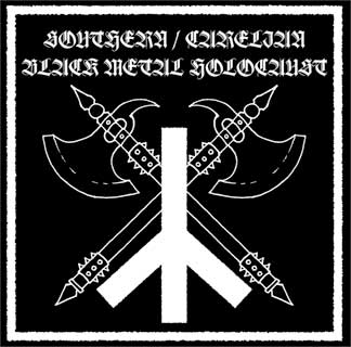 Southern / Carelian - Black Metal Holocaust cover (Click to see larger picture)