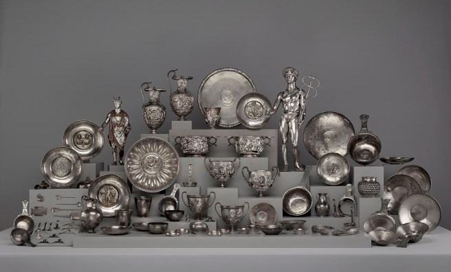 Image result for Roman tableware gold archaeology