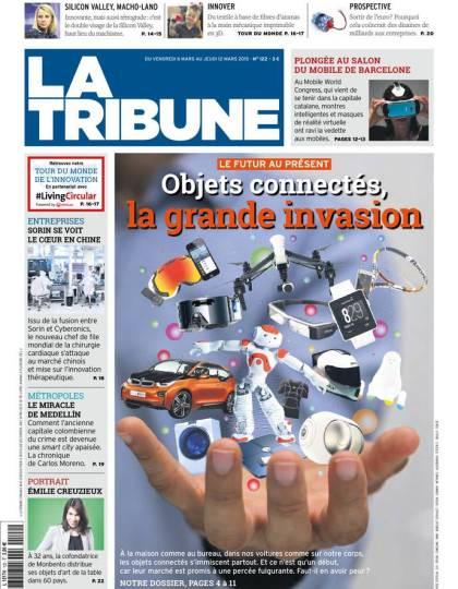 La Tribune Hebdomadaire du 06 mars au vendredi 2015