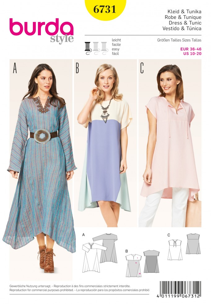 Easy Tunic Sewing Pattern