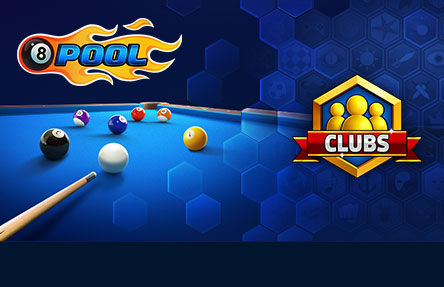 Pool Games at Miniclip com 8 Ball Pool   Clubs