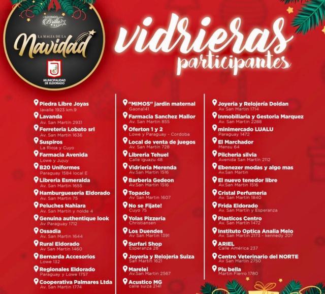 """""""Eldorado Brilla"""": iglesias también se sumaron a la decoración navideña de vidrieras y barrios"""
