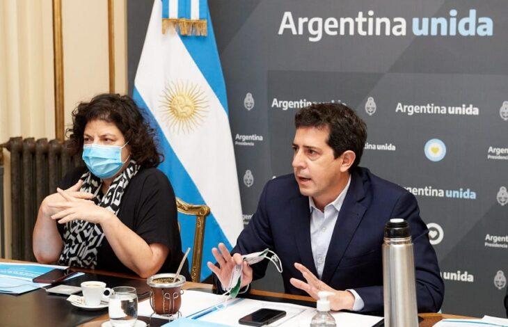 Wado de Pedro y Vizzotti se reunieron con los gobernadores y gobernadoras para analizar los avances del Plan de Vacunación - MisionesOnline