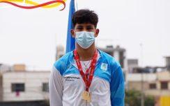 """""""Esta medalla de oro en el pecho es por la constancia, disciplina y perseverancia"""", contó el posadeño Amarilla, flamante campeón sudamericano"""