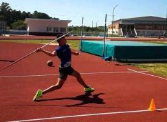"""""""Mi objetivo es lograr un podio en el Sudamericano de Atletismo"""", sostuvo el joven Lautaro Amarilla en vísperas del viaje a Perú"""