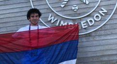 En dobles, el posadeño Ezequiel Monferrer avanzó a segunda ronda de Wimbledon