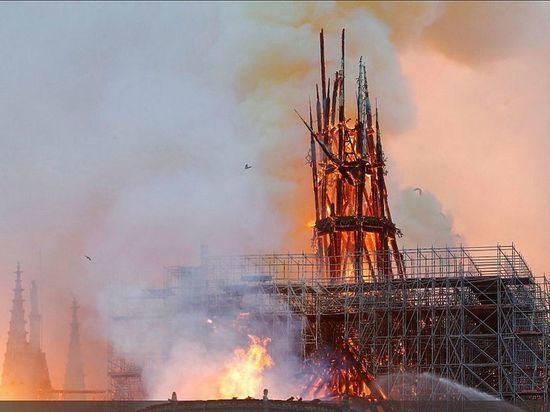 Русский пожарный оценил тушение Нотр-Дама французами - МК
