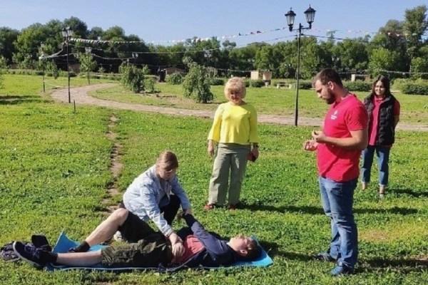 В подростковых трудовых бригадах Серпухова прошёл урок ...