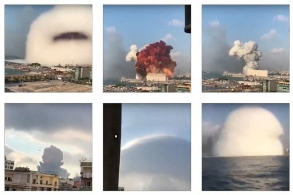 Опубликованы фото Бейрута из космоса до и после взрыва - МК