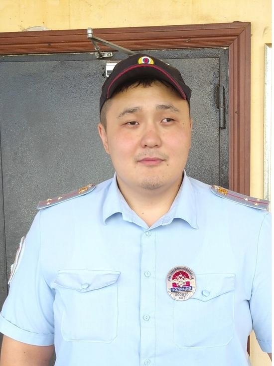 В Калмыкии выбран лучший участковый полиции - МК Калмыкия