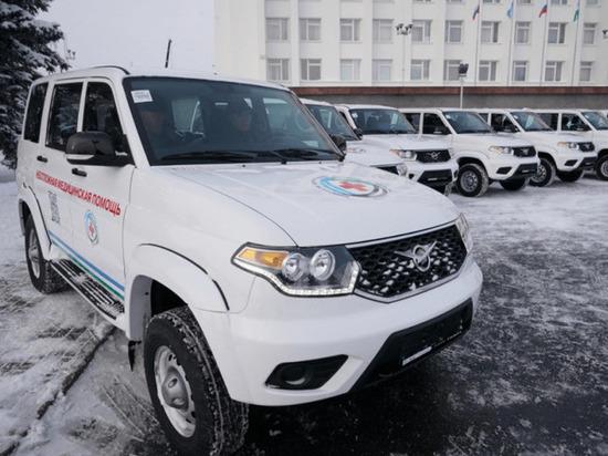 Девять башкирских больниц получили 25 новых автомобилей ...