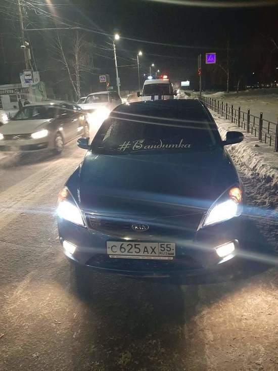 В Омске молодой водитель женщину на переходе - МК Омск