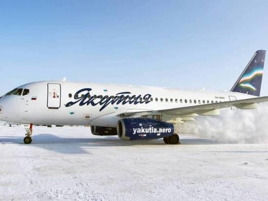 Самолет Sukhoi Superjet 100 совершил грубую посадку в ...