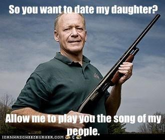 «Ma chère fille, j'espère que tu auras une vie sexuelle épanouie.» so you want to date my daughter