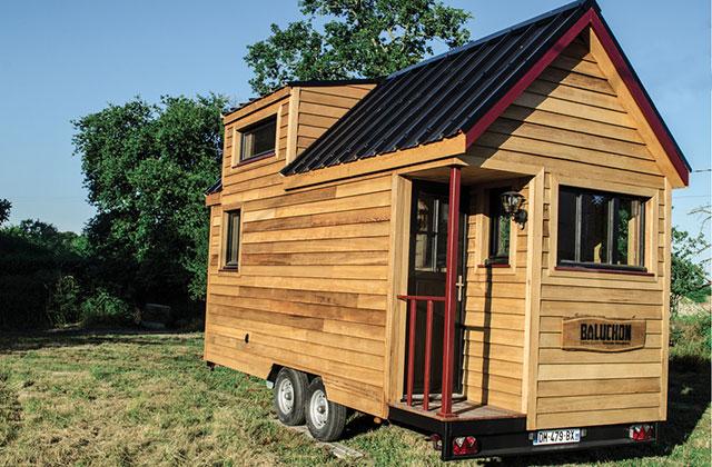 Le Projet Baluchon La Belle Aventure Tiny House De Laetitia