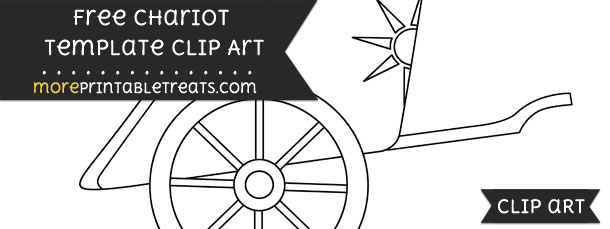 Chariot Template Clipart