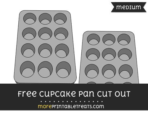 Cupcake Pan Cut Out