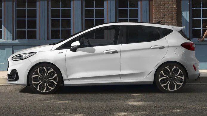 Ford Fiesta 2022 - side