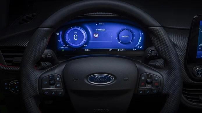 Ford Fiesta 2022 - digital instrument cluster