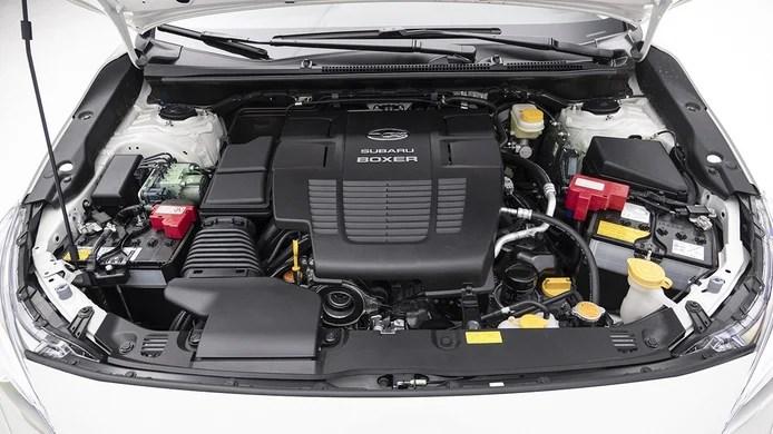 Subaru Impreza EcoHybrid - engine