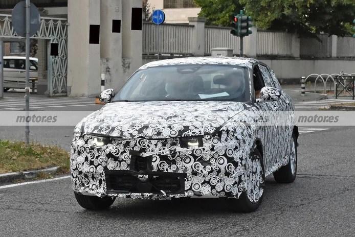 Spy photo Alfa Romeo Tonale 2022 - exterior
