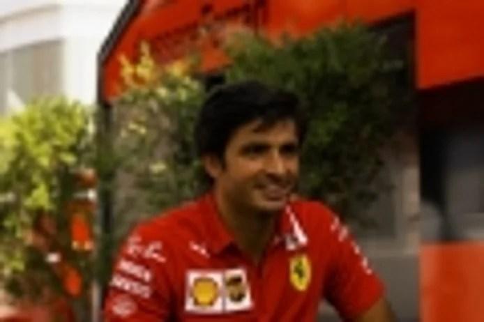 Sainz lives his first GP at Monza with Ferrari: