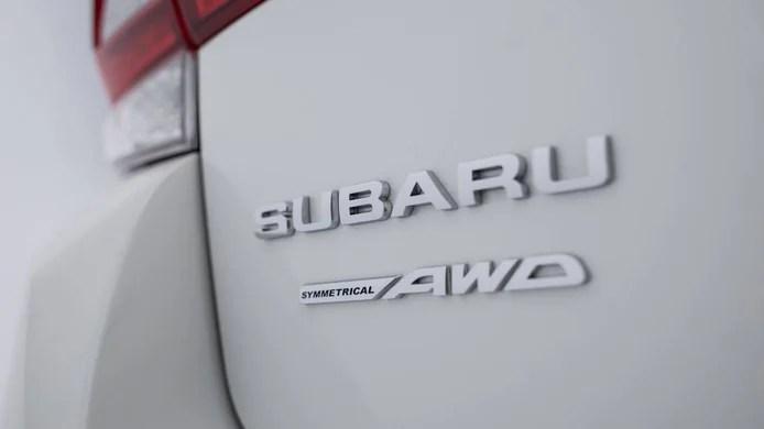 Subaru Symmetrical AWD All-Wheel Drive