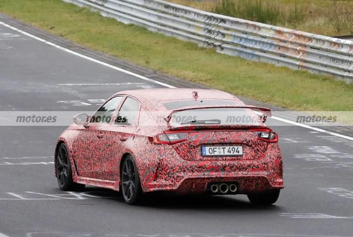 2023 Honda Civic Type R spy photo at Nürburgring - exterior