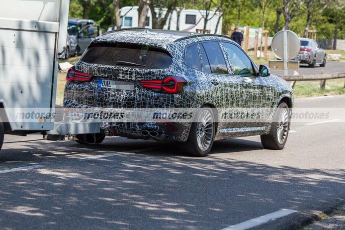 Spy photo Alpina XD3 Facelift 2022 - exterior